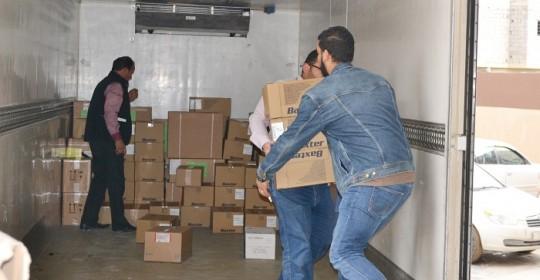 الدولية للصليب الأحمر تقدم مساعدات للمستشفى