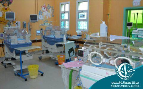 قسم النساء والولادة (342) حالة ولادة خلال يونيو بمركز مصراتة الطبي في 2018م
