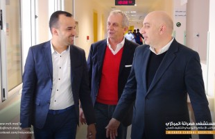 تركي يزور مستشفى مصراتة المركزي