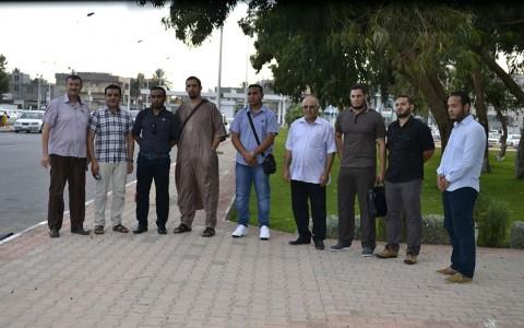قافلة من أطباء مصراتة في غات