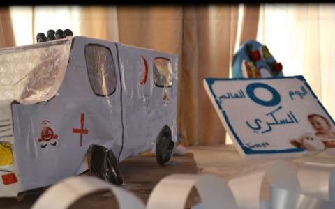 مكتب الإعلام بالمستشفى يشارك في احتفالية اليوم العالمي للسكري