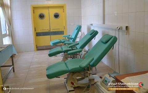وحدة مصرف الدم بقسم المختبرات الطبية