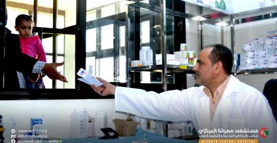 أبو جلالة: 1600 وصفة طبية تصرف شهريا.