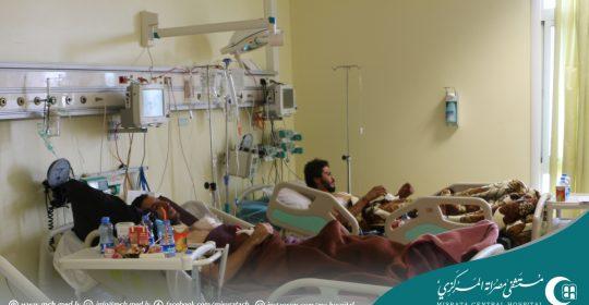 124% نسبة انشغال أسِرّة المستشفى خلال العام 2016