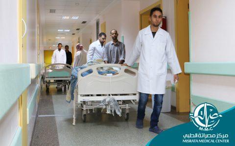 6684 حالة إيواء بمركز مصراتة الطبي لسنة 2018م