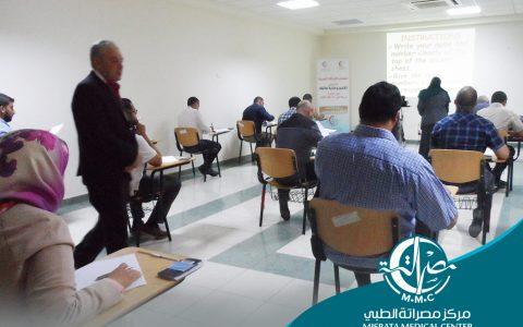 18 طبيباً في امتحان الزمالة العربية