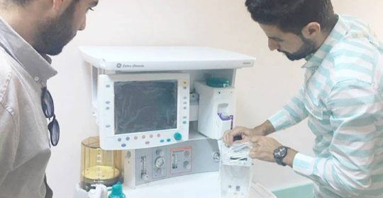 """المعدات الطبية تعلن صيانة وتركيب """"33"""" جهازاً في نوفمبر بـ 2018م"""