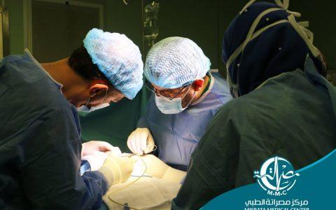 قسم الجــراحـــــــة (عملية جراحية)