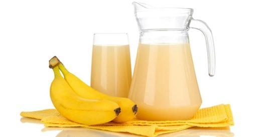 فوائدُ عَصِيرِ الموز